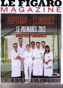 Classement Hôpitaux Cliniques Figaro 2013